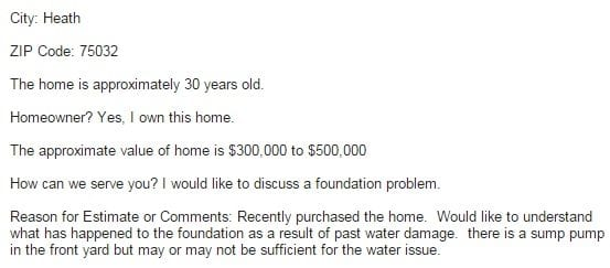 Proper drainage of water away from a home's slab foundation is important.