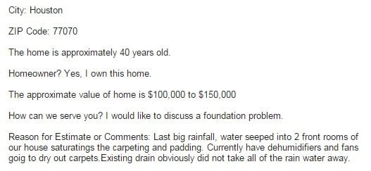 Common Warning Signs and Foundation Problems in the Houston area.